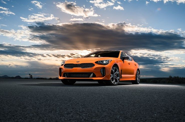 The 2019 Kia Stinger Has Been Named A Top Safety Pick Plus By The