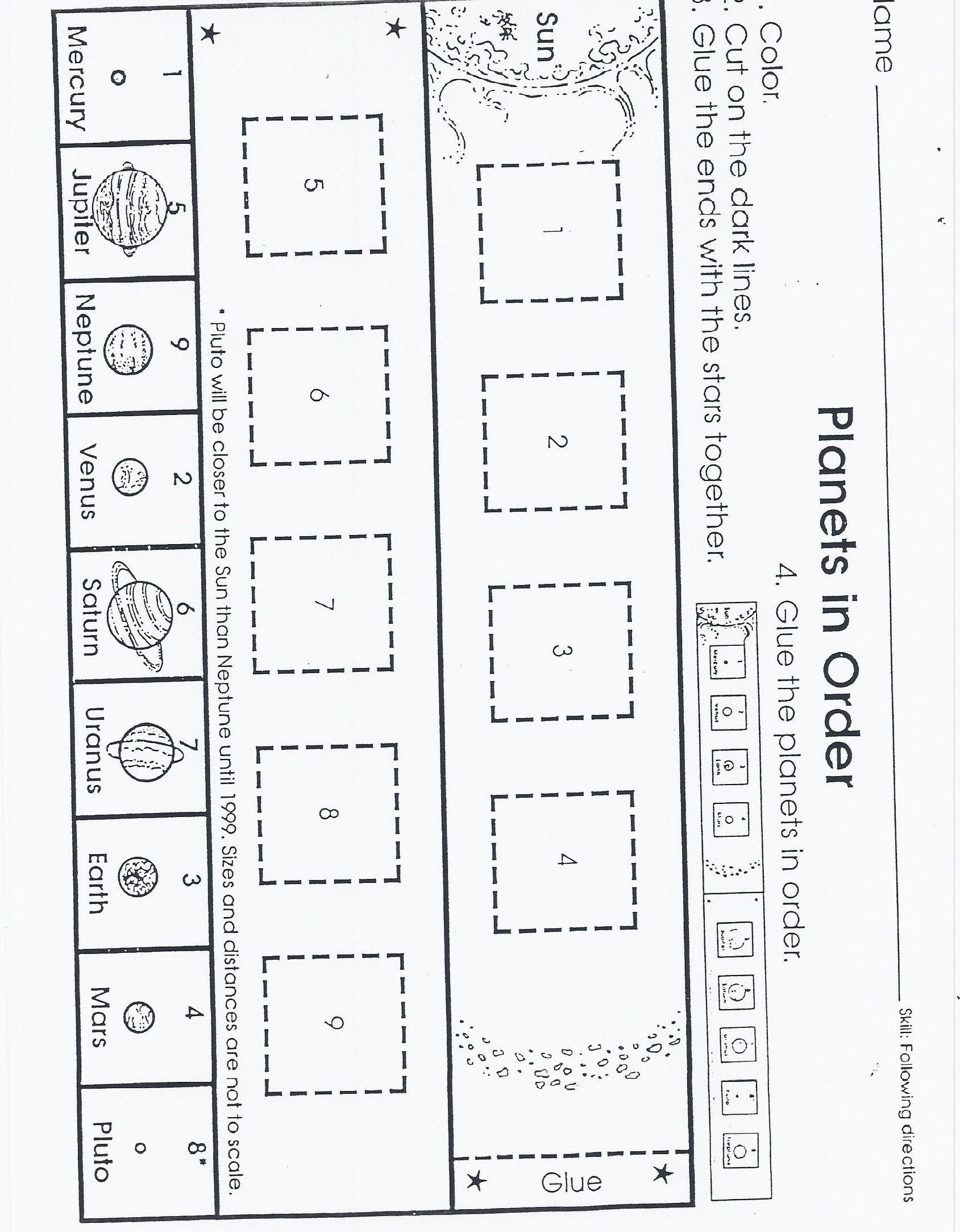 Outer Space Kindergarten Nana Space Preschool Shapes Worksheet Kindergarten Space Activities [ 2167 x 1689 Pixel ]