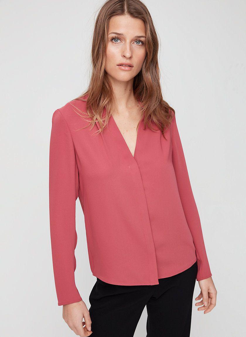 1db3eede26cd Akira blouse in 2019 | Look | Blouse, Matte satin, Shirt Dress