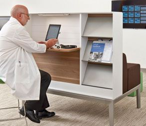 Nurture Regard Furniture For Touchdown Spaces #office #healthcare #doctor
