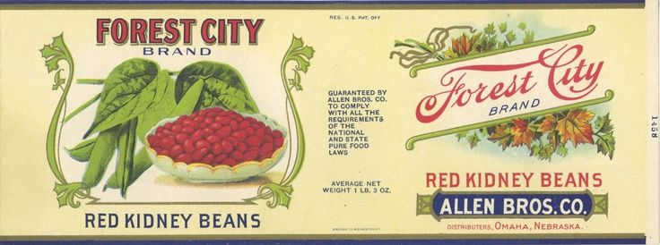 Vintage Canned Food Labels | vintage canned food label | Collage ...