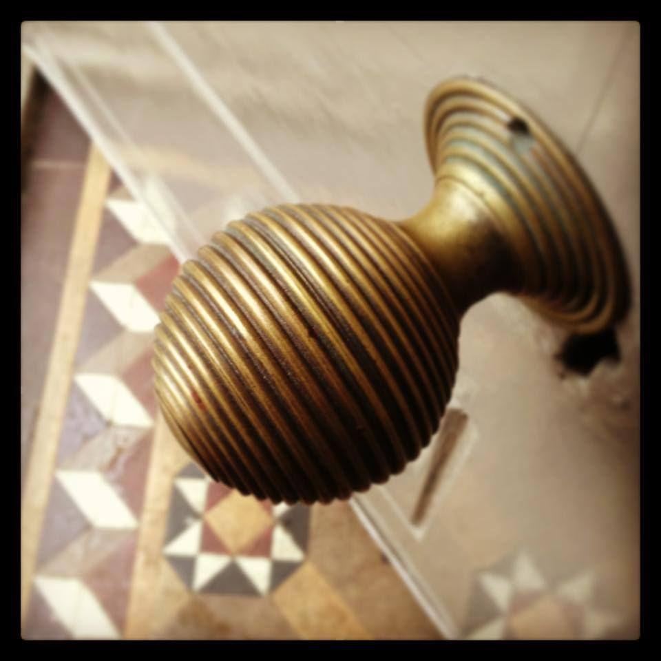 large brass beehive door knobs from Willow & Stone | Doors, Door ...