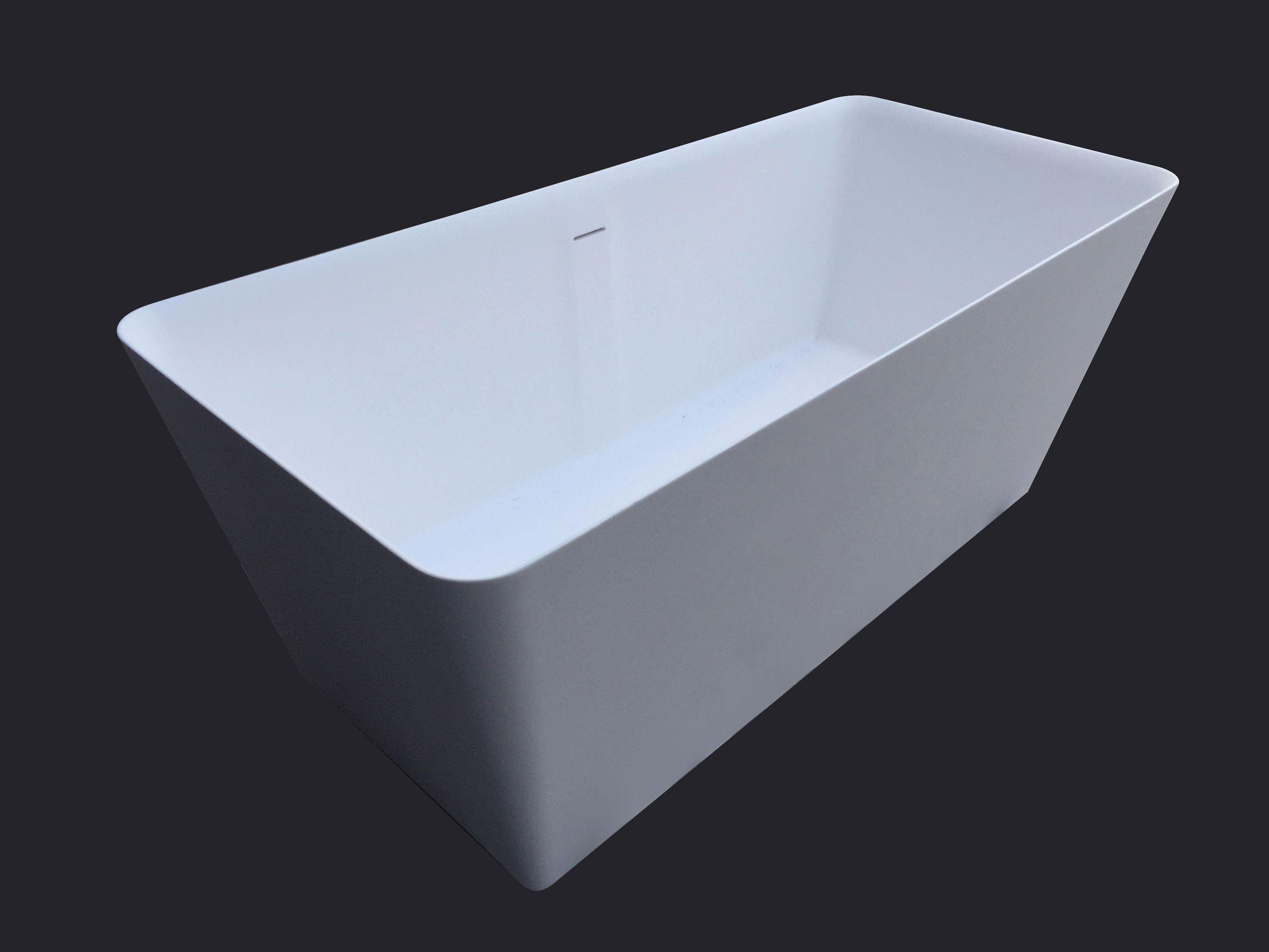 iTub er ett elegant frittstående badekar fra Interform ...