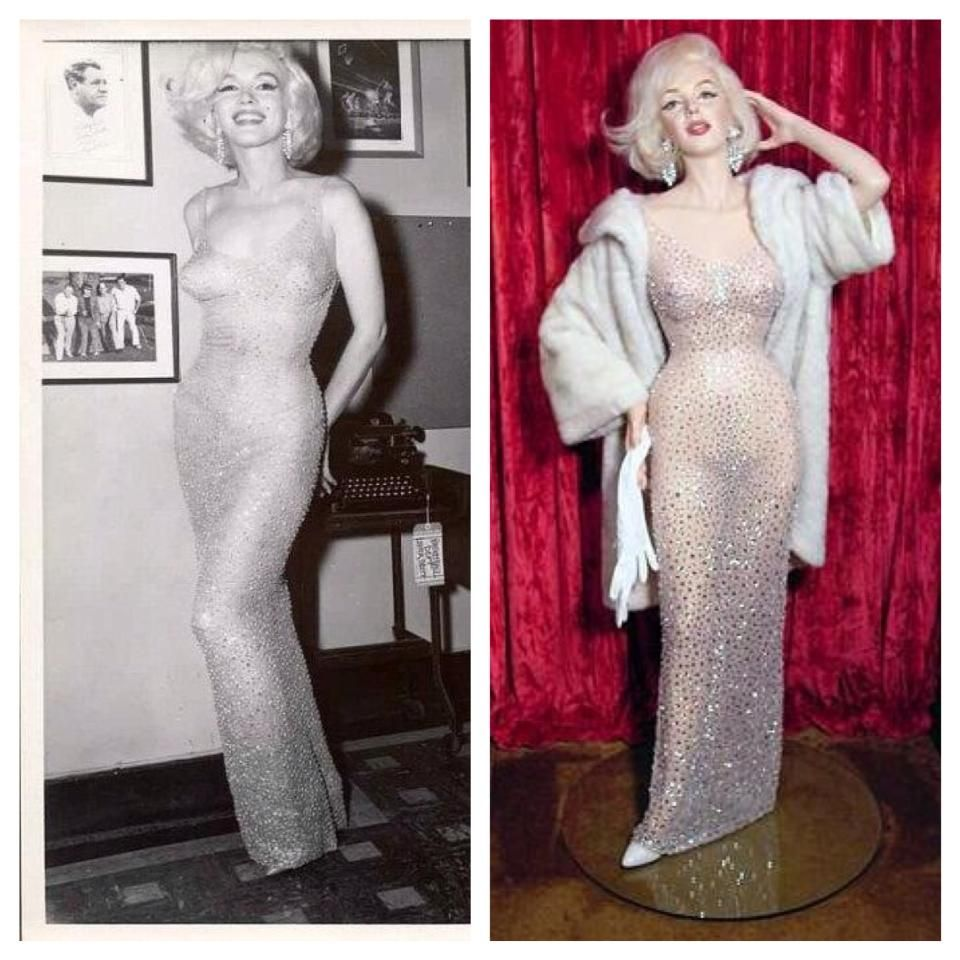 Marilyn Monroe Happy Birthday Mr. President Dress!