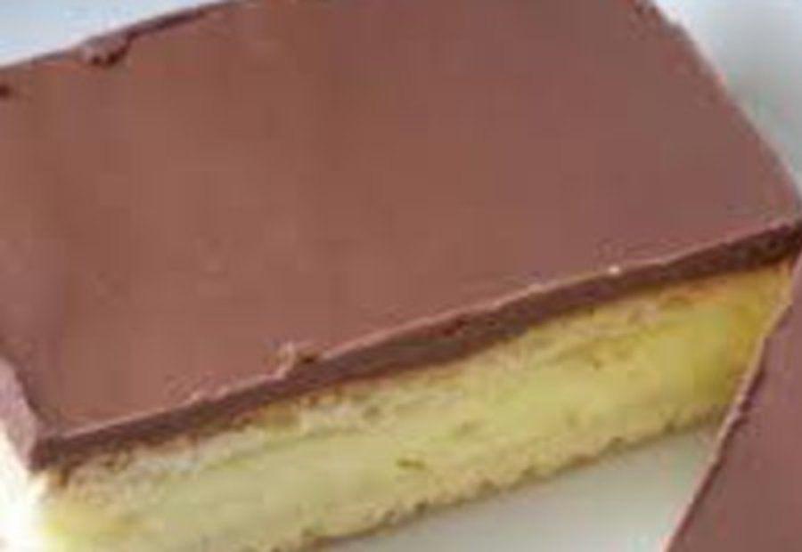 Schoko pudding kuchen vom blech rezept s ss - Eier kochen mittel ...