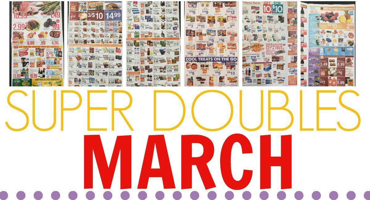 Super Doubles In March 3 3 3 5 Printable List Ad Scan Printable Coupons Harris Teeter Green Giant Veggie Tots