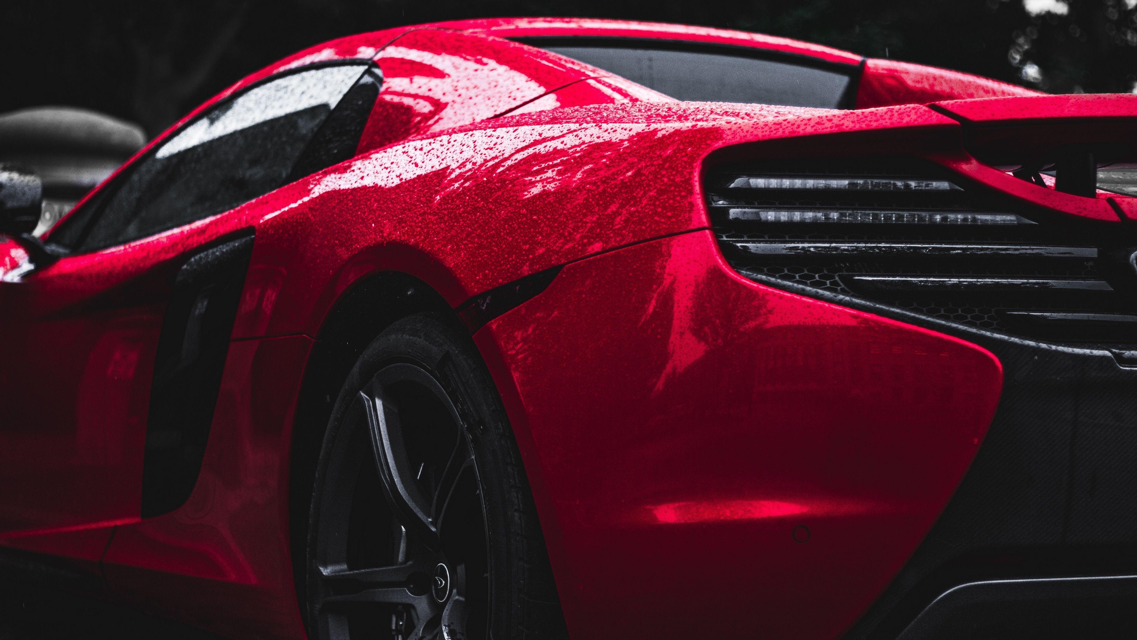 Red Mclaren Rear mclaren wallpapers, hd-wallpapers, cars wallpapers, 4k-wallpape…