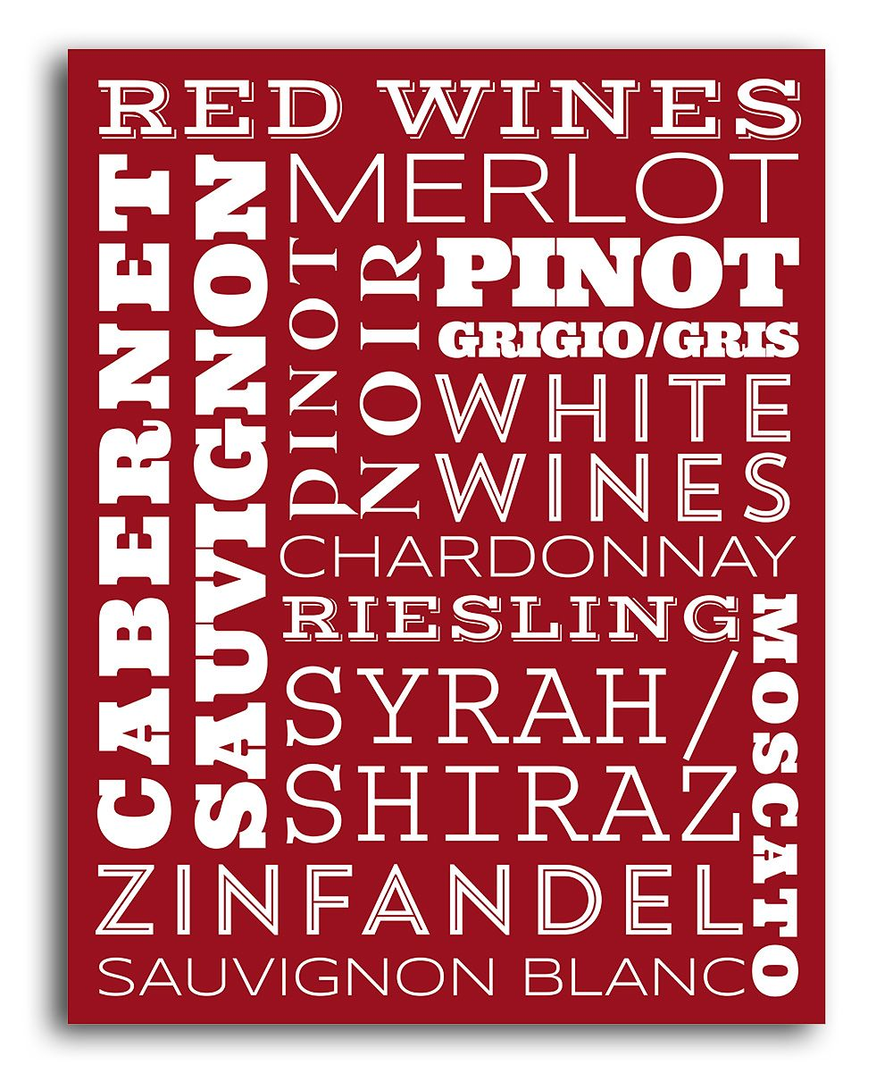 Red Red Wines Print Zulily Wine Print Red Wine Wines