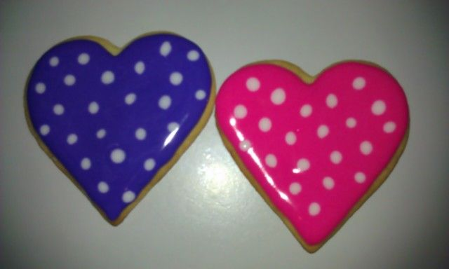 Sugar Cookies decorated with royal icing...A Minnie Mouse Collection!
