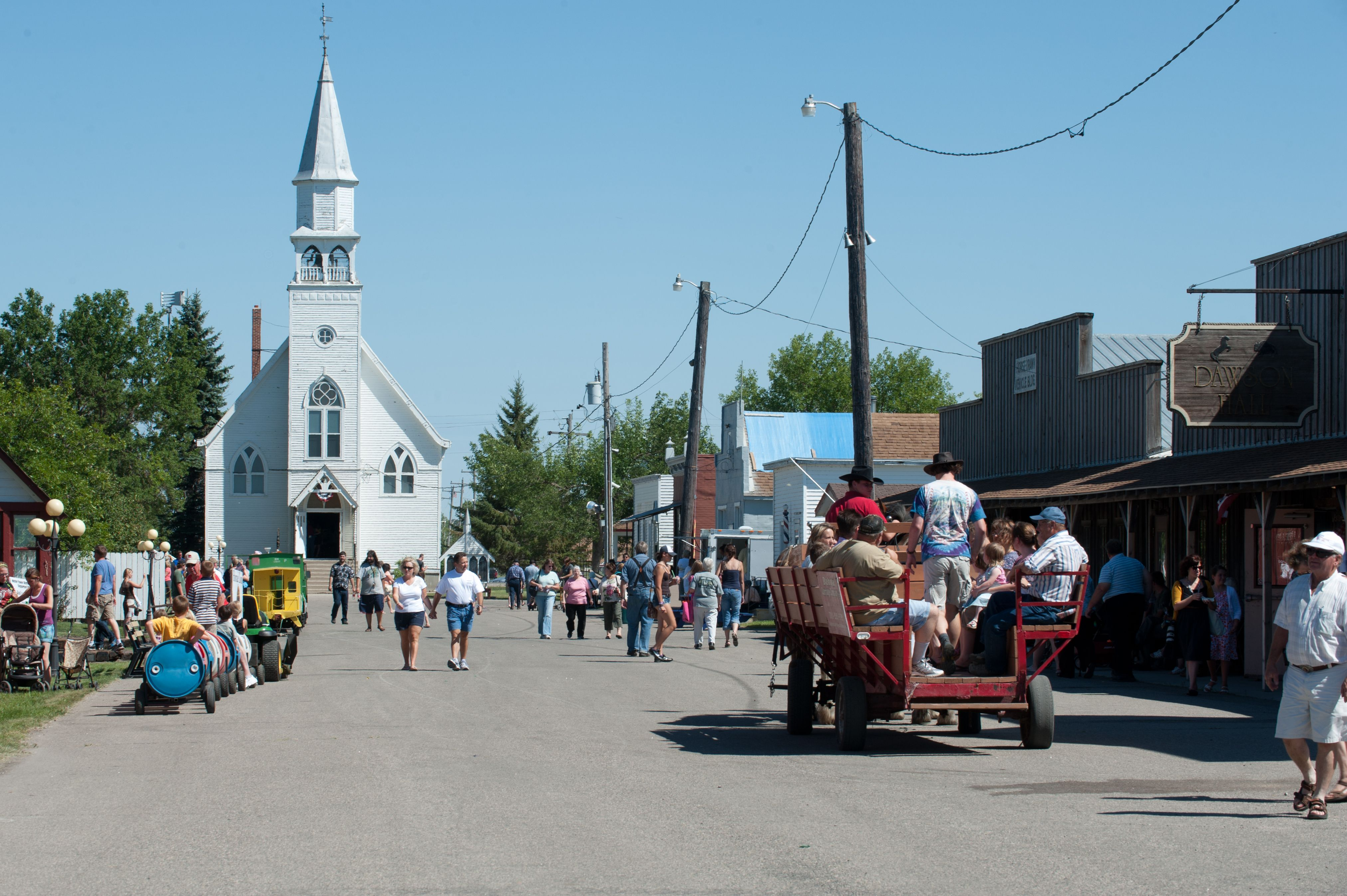 Pioneer Days at Bonanzaville in Fargo, ND! West fargo
