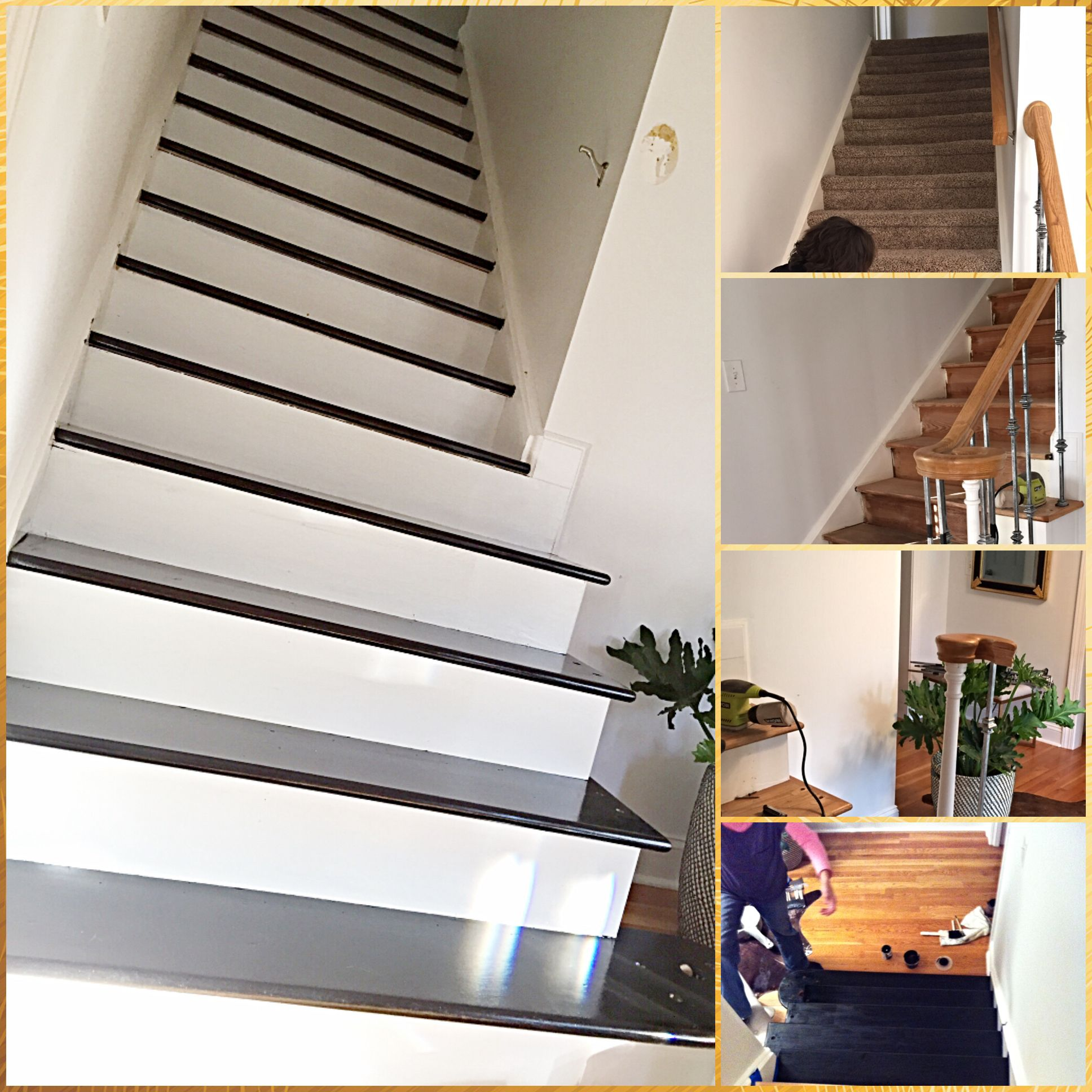 Last Step....stain And Replace Bannister...stay Tuned
