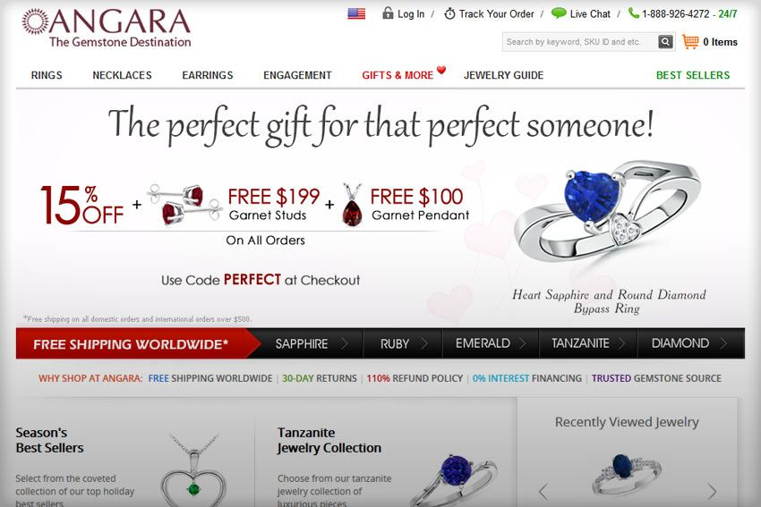 How to Run a Proper Online Jewelry Store: Learn From Angara.com