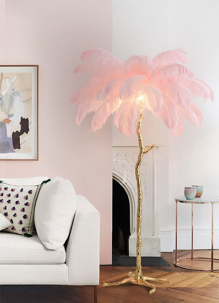 Lucas Palm Tree Lamp In 2020 Floor Lamps Living Room Beautiful Floor Lamps Modern Floor Lamps