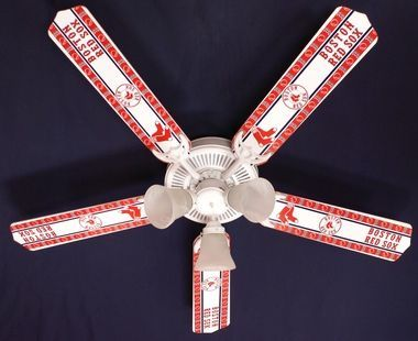 Mlb boston red sox baseball ceiling fan 52 mlb boston red sox baseball ceiling fan 52 aloadofball Image collections