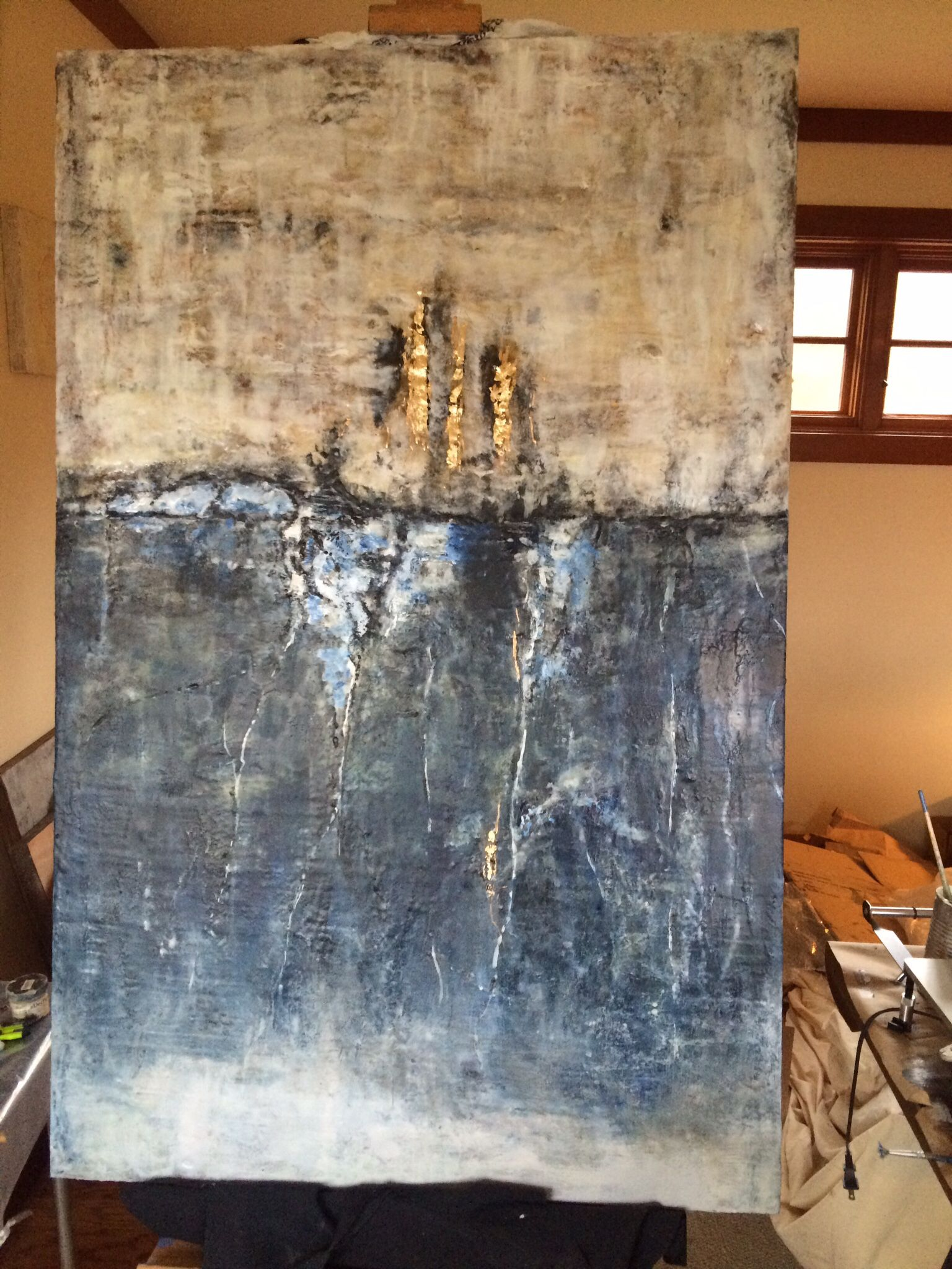 Encaustic art, available @locatiarchitects Refined rustic. | Art ...