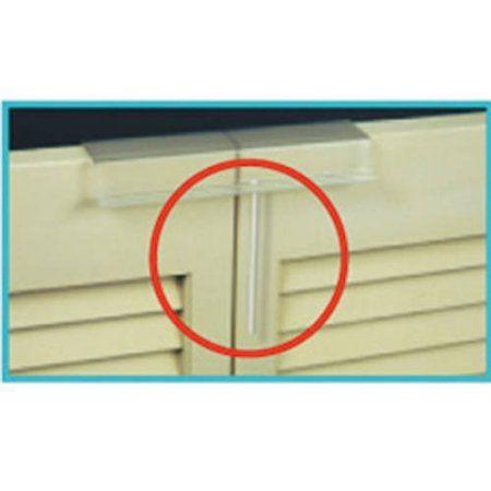 Mommy\'s Helper Slide Lok Bi-Fold Door Lock, Multicolor | Bi fold ...