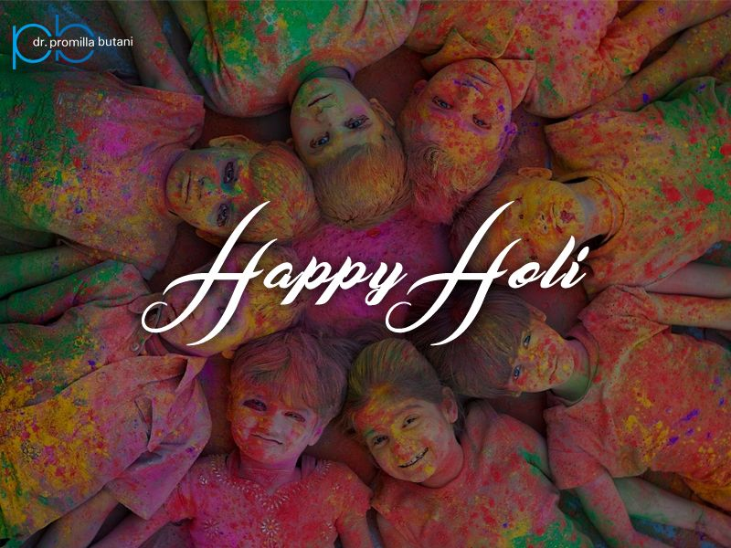 May this Holi be filled with sweet and colorful moments with friends & family to cherish forever!  #happyholi2017