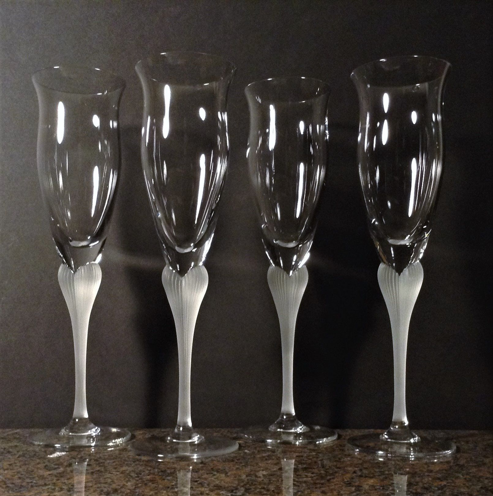Pin On Vintage Champagne Glasses Flutes