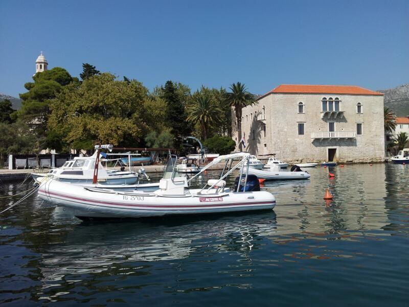 Beautiful 15th Century Castle in Kastel Luksic, Kastela found in between Split and Trogir in Dalmatia.