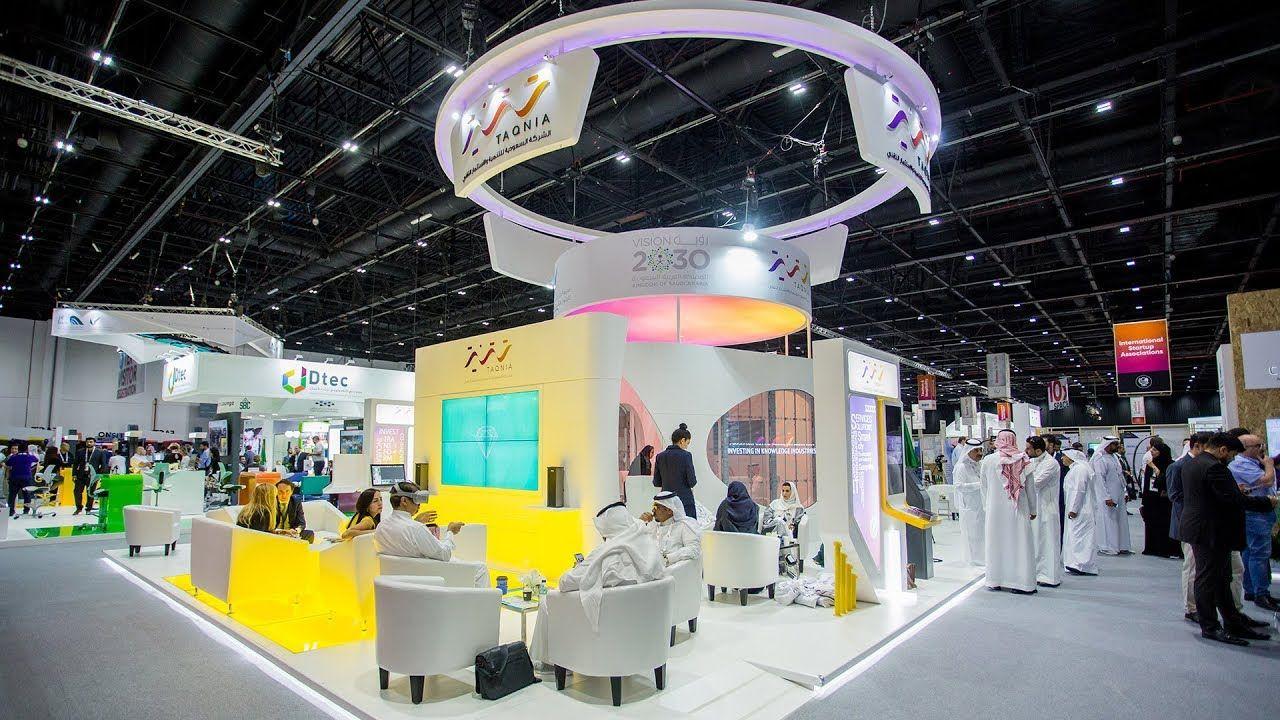 Exhibition Stand Activities : Taqnia stand highlights gitex technology mind spirit