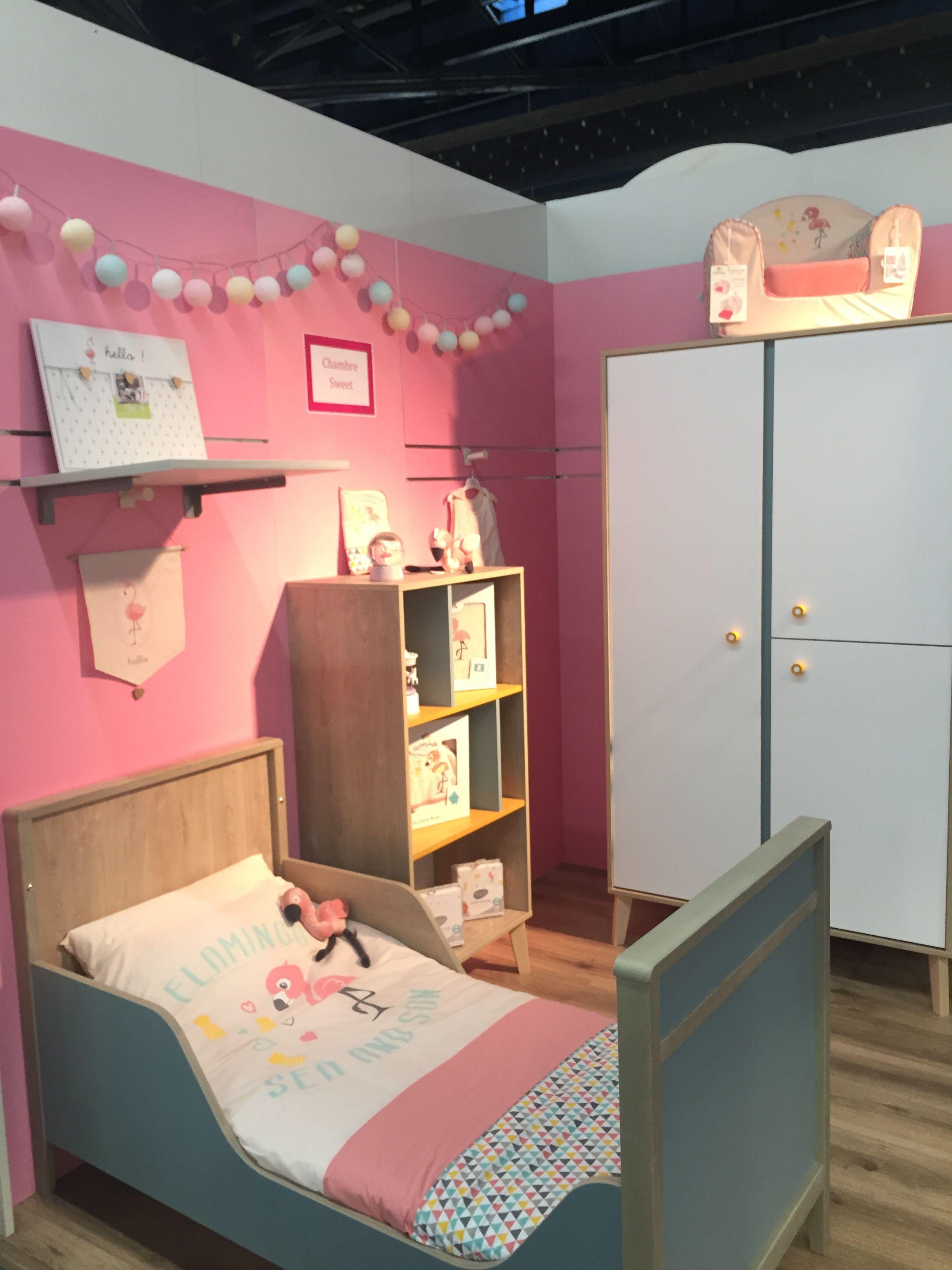 La Chambre Sweet De Galipette Avec Le Theme De Lit Flamingo De