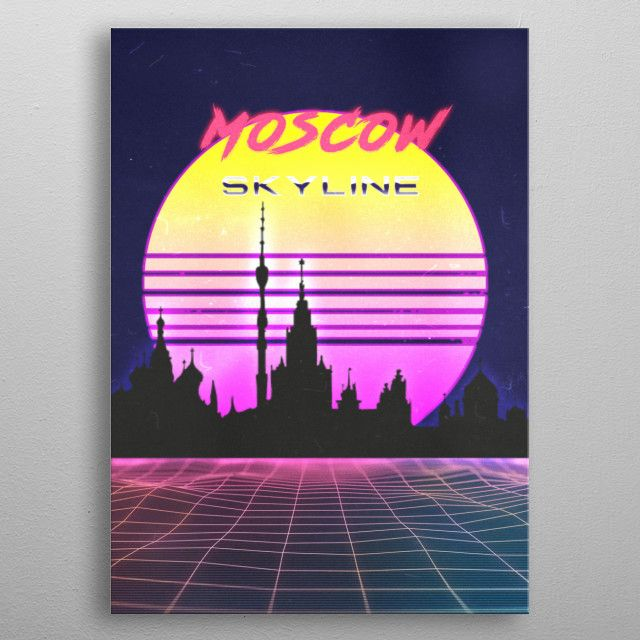 MOSCOW by FARKI15 DESIGN | metal posters - Displate | Displate thumbnail