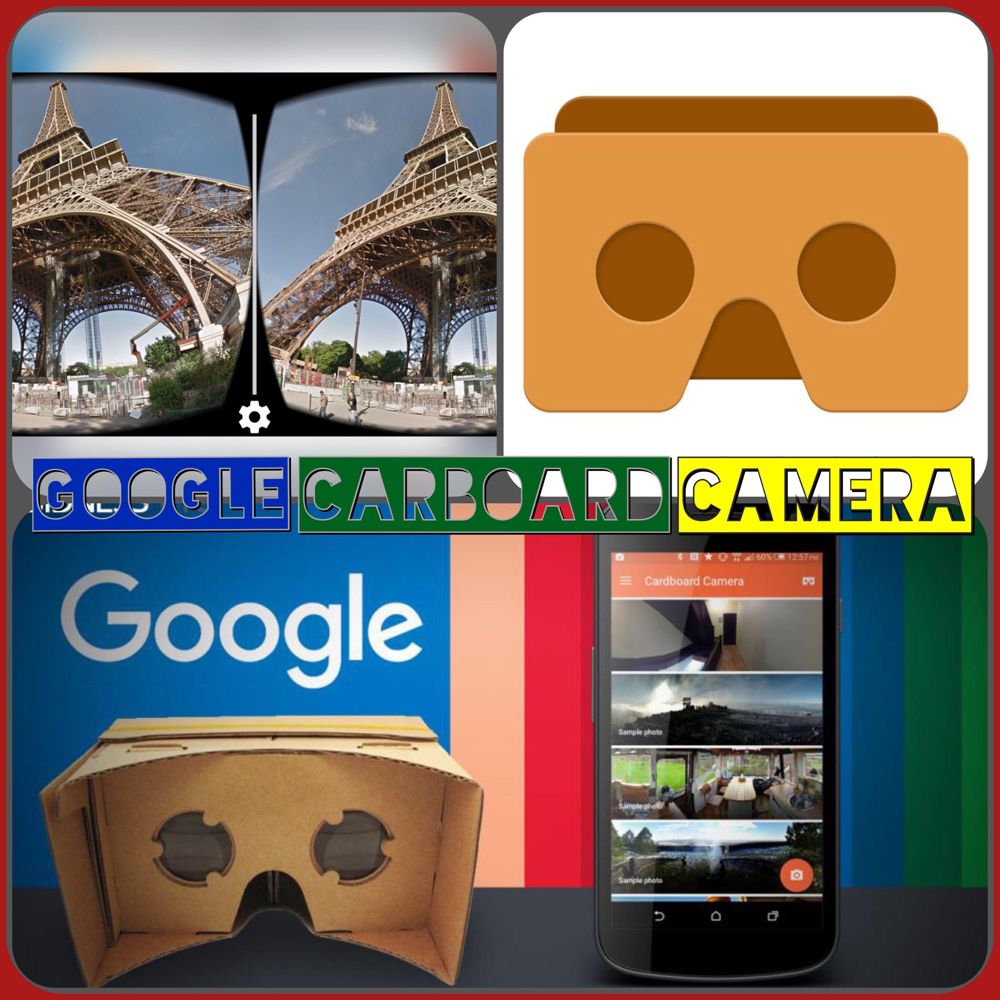 Google cardboard camera maakt het mogelijk om zelf 360-graden foto's te maken op je telefoon. Hou de telefoon vast terwijl je in een cirkel rondraait. De app doet de rest door de fotos aan elkaar te plakken. Geluid kan ook opgenomen worden. De app werkt ook met Google Street VR waar je de 3D locaties aan kunt koppelen. Appstore: Google Cardboard' van Google, Inc. https://appsto.re/nl/vUX46.i Playstore: https://play.google.com/store/apps/details?id=com.google.vr.cyclops&hl=nl