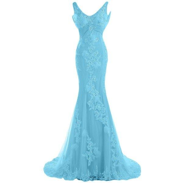 Mermaid Wedding Dresses Polyvore : Sunvary gorgeous mermaid wedding dresses for bride lace