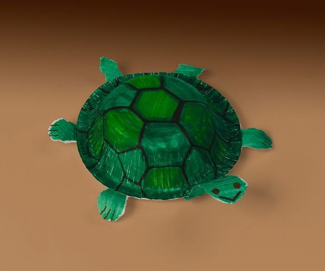 Cute and cunning turtles star in many children s stories for Reptile crafts for kids