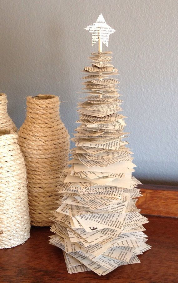 Items similar to Paper Christmas Tree on Etsy #christmastreeideas