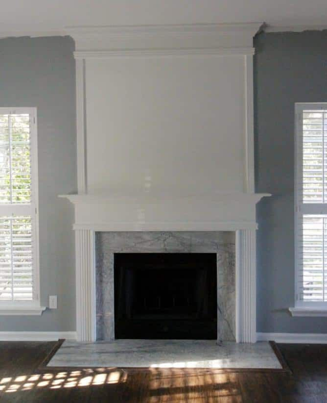 Newest Pic Fireplace Remodel with shelves Concepts  How to use moulding to exten... - #concepts #exten #Fireplace #moulding #newest #PIC #Remodel #shelves