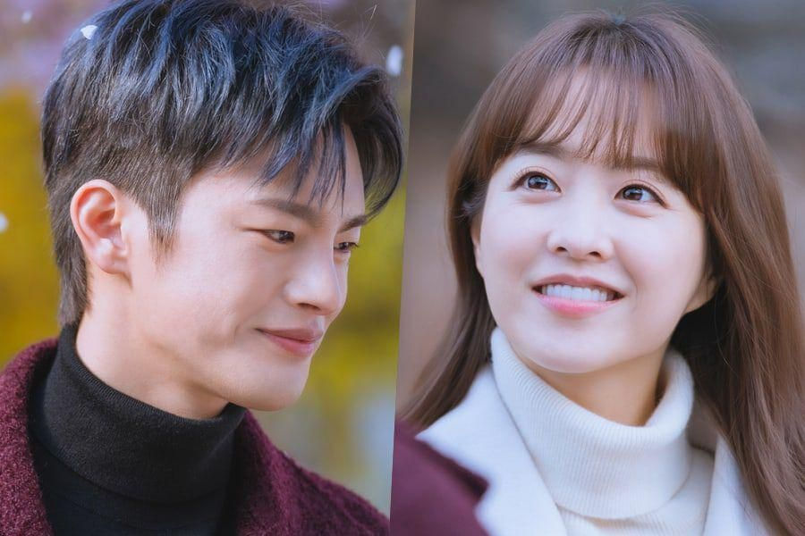"""Park Bo Young And Seo In Guk Enjoy A Lovely Date In """"Doom At Your Service"""""""