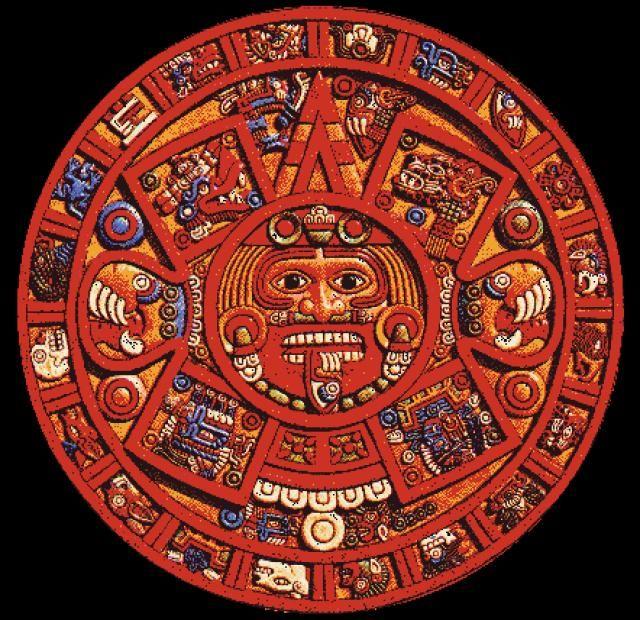 Il Calendario Maya.Calendario Maya Mayan