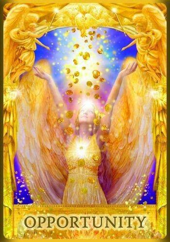 Idea De Bonnie Ahavah En Magic Lights Tarot De Angeles Cartas