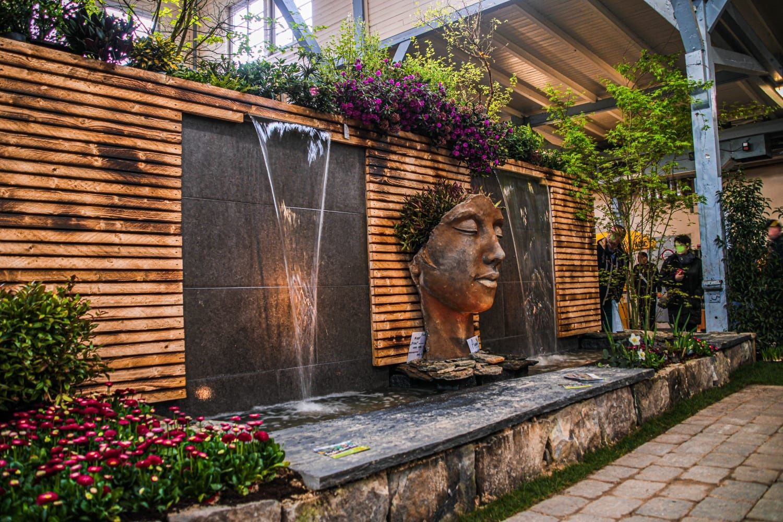 Wasser An Der Terrasse Oder Im Garten Moderne Ideen Zum Wohlfuhlen In 2020 Gartengestaltung Garten Gartenparadies