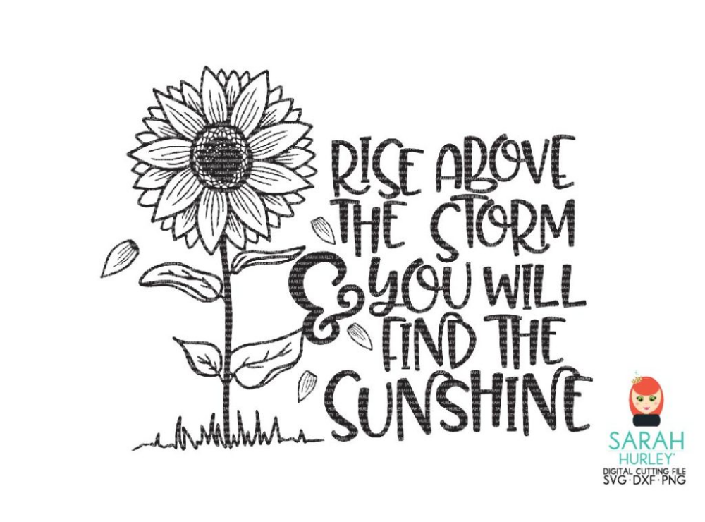 Rise Above The Storm Storm, Rise above, Digital svg
