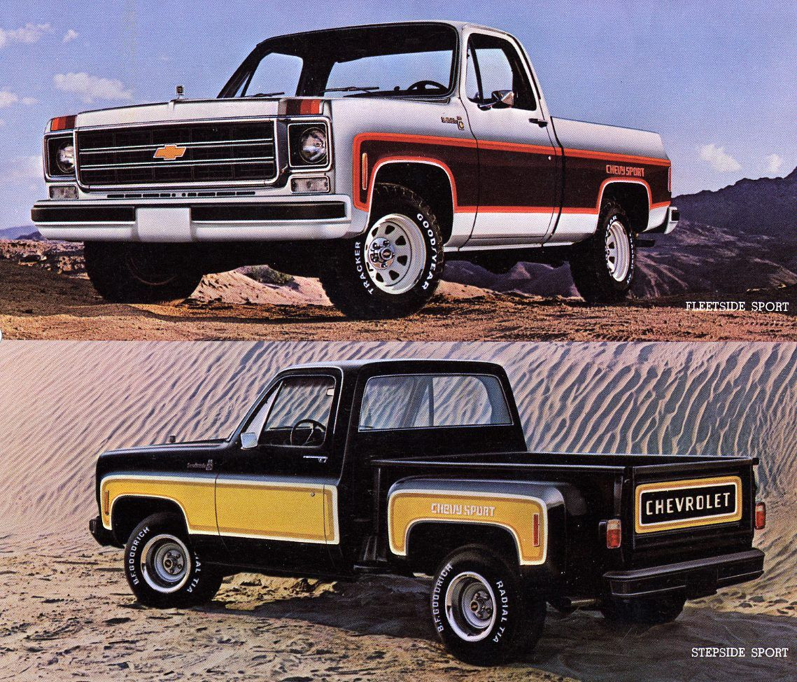 Chevrolet Special Edition Trucks >> All Of 73 87 Chevy And Gmc Special Edition Pickup Trucks