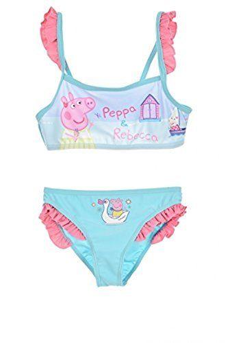 08cf652e1199 Peppa Pig New Girls Peppa Pig 2 Piece Swimsuit/2 Piece Bikini ...