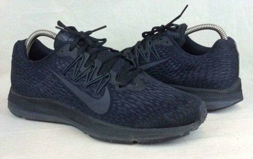 Nike Zoom Winflo 5 Size 9 Us Women S Black Running Shoes Aa7414