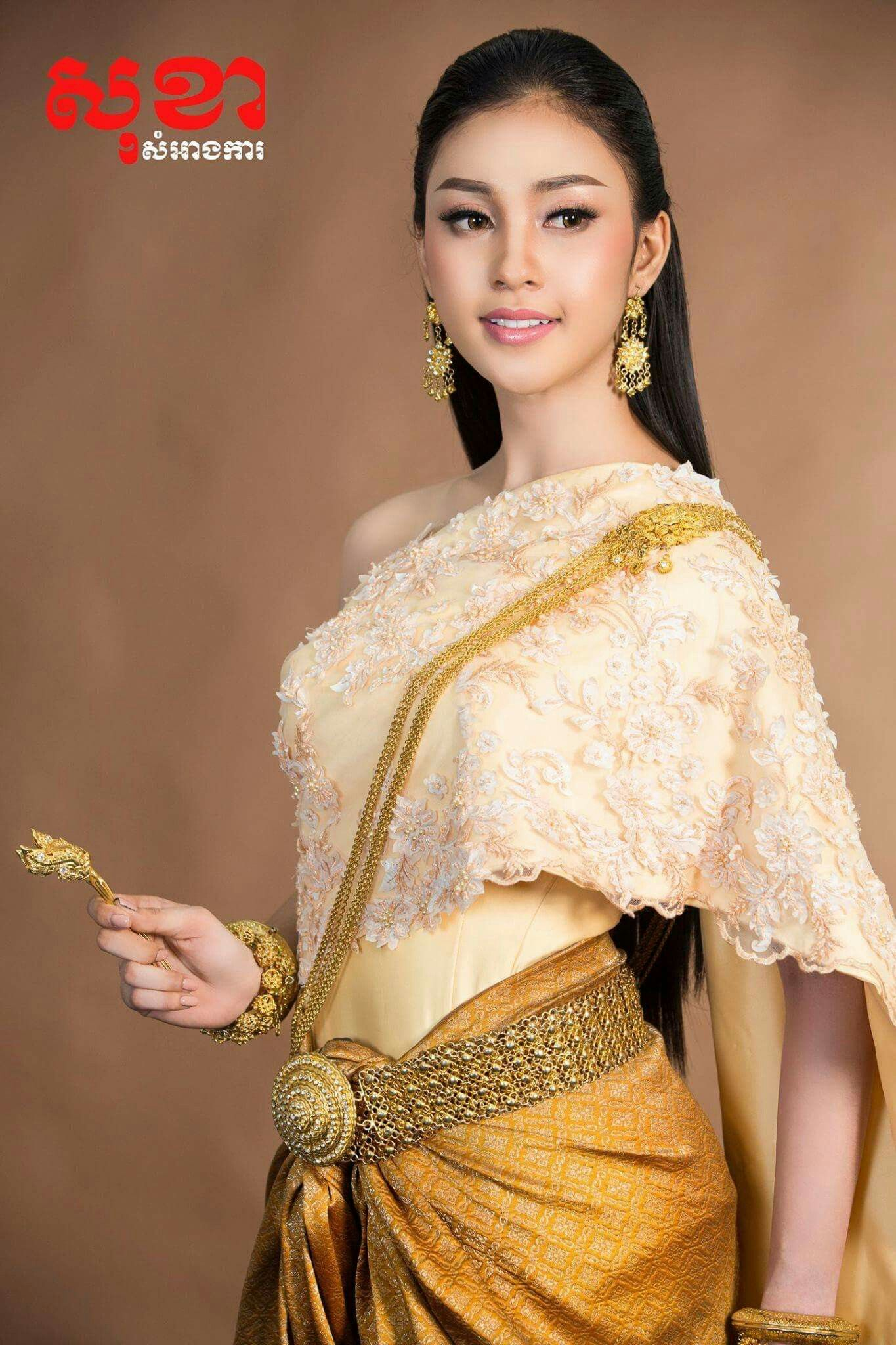 Khmer traditional wedding dress cambodian dress in