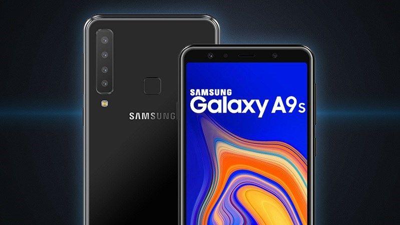 سرب مصدر ألماني اليوم مواصفات جوال جالكسي A9s الجديد المنتظر من شركة سامسونج والذي سيكون أول جوال بأربعة كاميرات في العالم Galaxy Samsung Galaxy Galaxy Phone