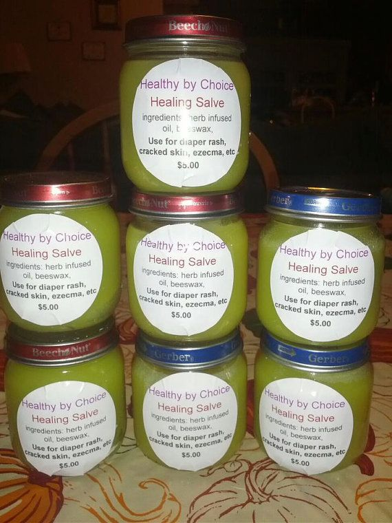 Organic Herb Infused Healing Salve! Made by a certified holisitc health coach who studies herbs and what they do for your body! $5.00 on Etsy