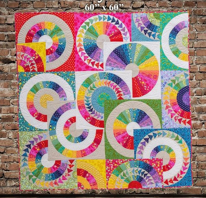 Crazy Tula Quilt Kit featuring Tula Pink and Cotton and Steel - PD ... : tula pink quilt kits - Adamdwight.com