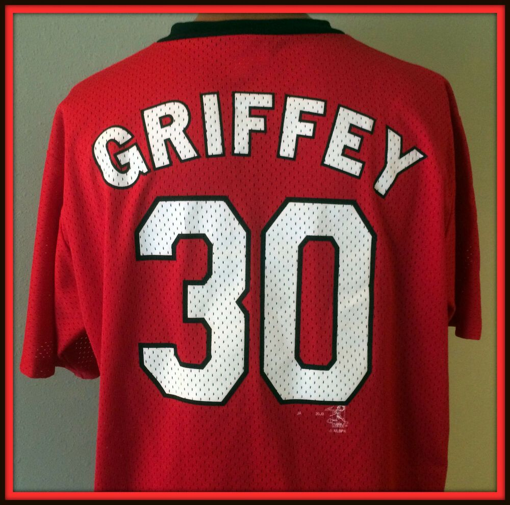 online store 11ad3 36023 VINTAGE 2000 KEN GRIFFEY JR CINCINNATI REDS ADULT XLARGE ...