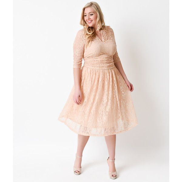 Peach Dress Plus Size Erkalnathandedecker