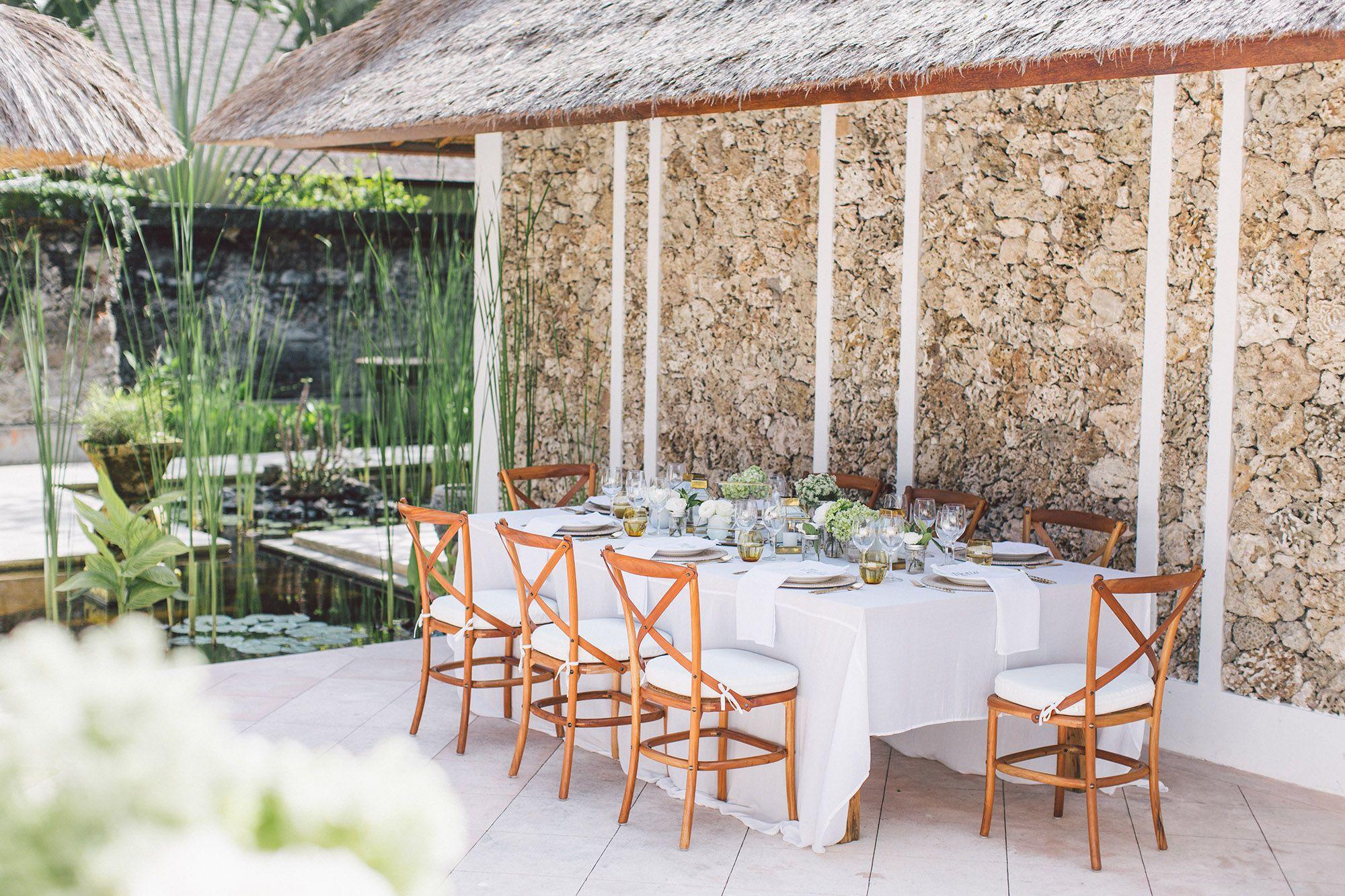Villa Batujimbar Wedding Stunning Wedding Venues Bali Villa