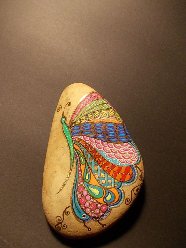 Mandala Stone Painting Easy
