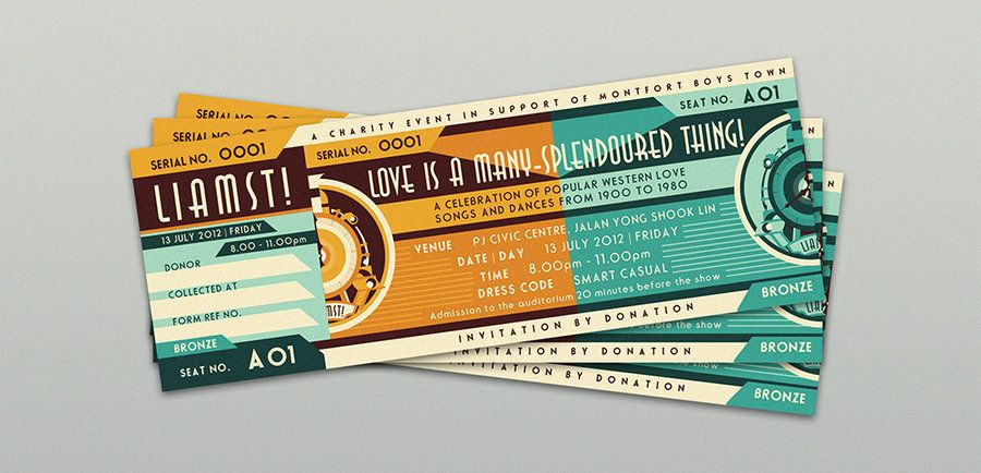 17 Best Images About Tickets On Pinterest | Corporate Design