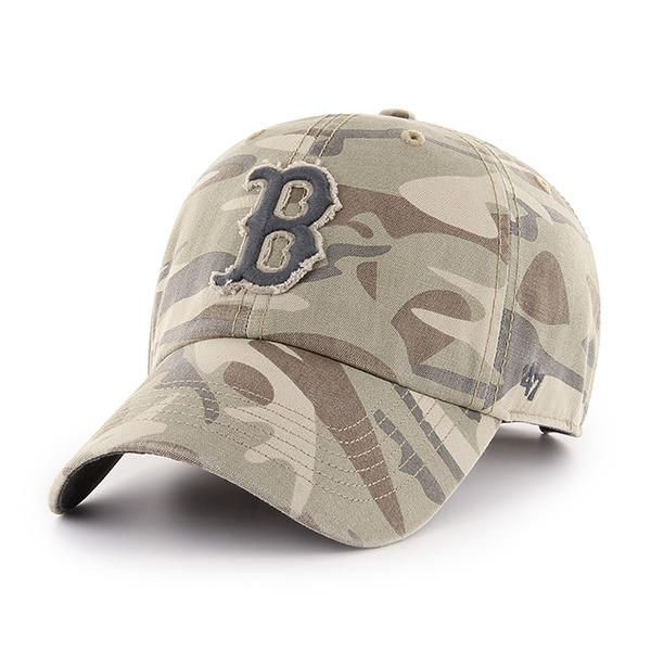 181f5247ffb Boston Red Sox Tarpoon Faded Camo 47 Brand Adjustable Hat - Great Prices  And Fast Shipping at Detroit Game Gear - The Greatest Camo Hat!