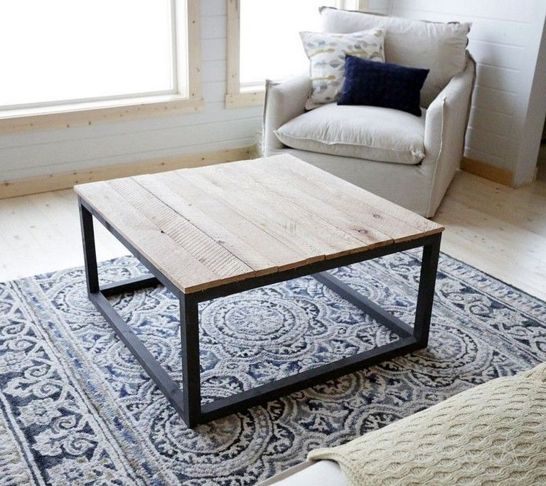 26 Inspiring Industrial Coffee Table Design Ideas You Can Make